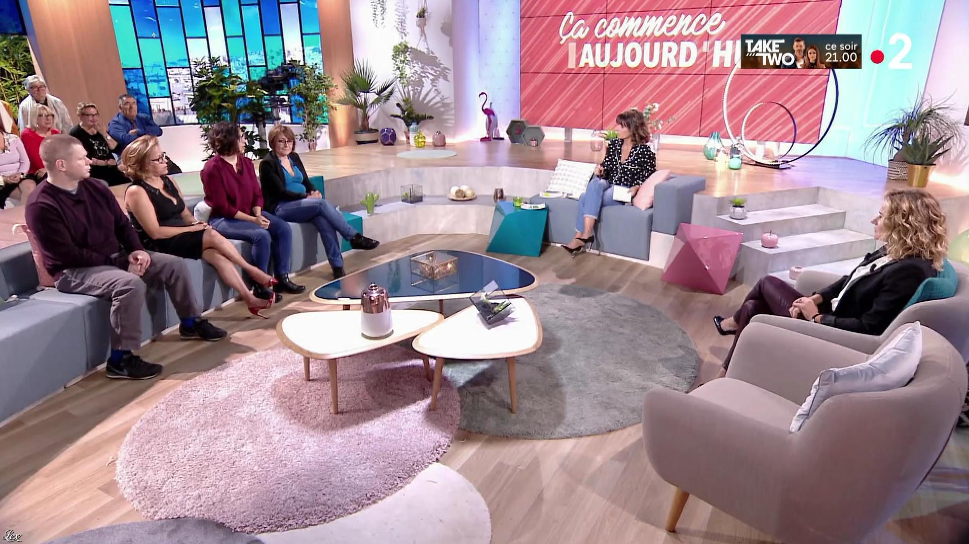 Christèle Albaret dans Ça Commence Aujourd'hui. Diffusé à la télévision le 15/10/18.
