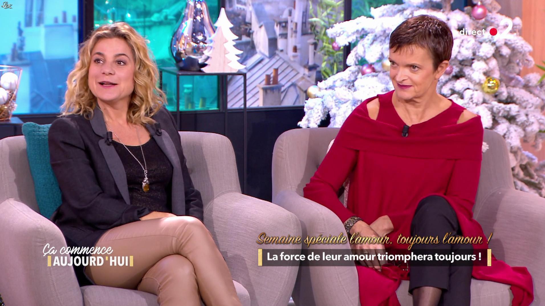 Christèle Albaret dans Ça Commence Aujourd'hui. Diffusé à la télévision le 30/11/18.