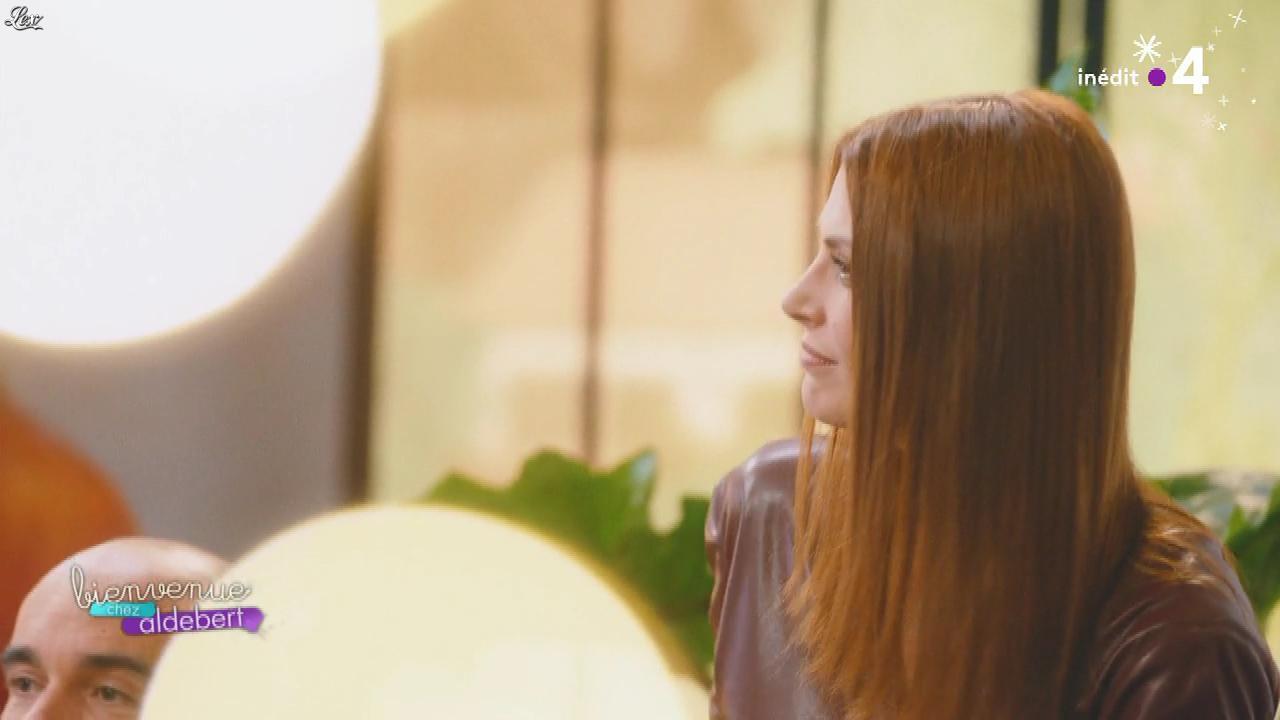 Elodie Frégé dans Bienvenue Chez Aldebert. Diffusé à la télévision le 14/12/18.