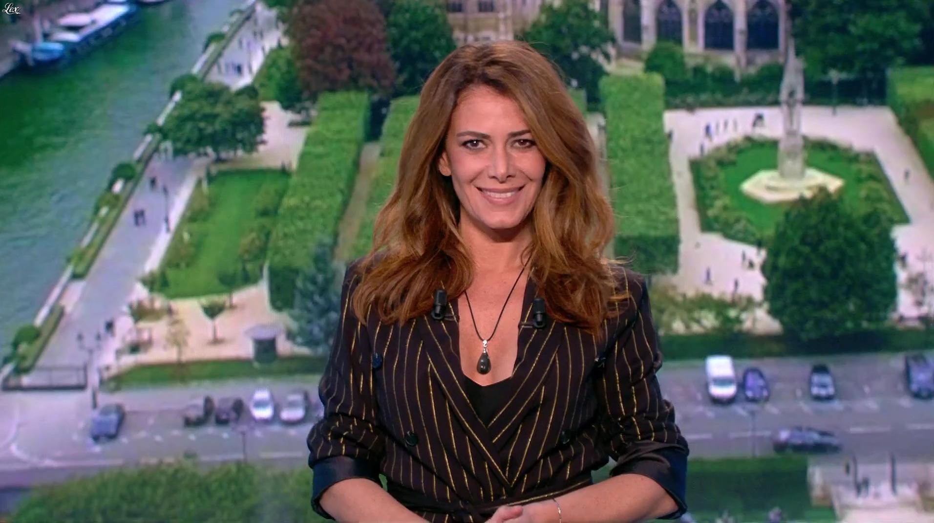 Elsa Fayer lors du Tirage du Loto. Diffusé à la télévision le 01/12/18.