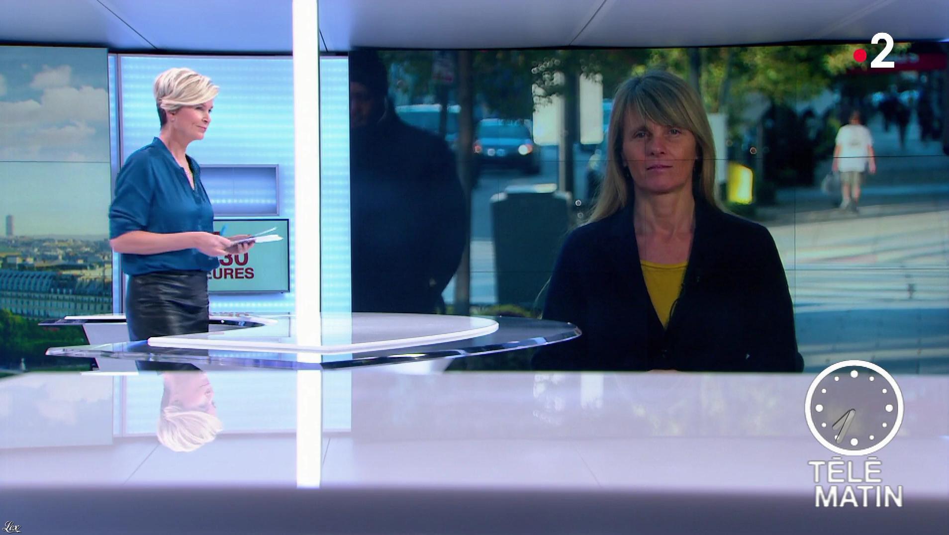 Estelle Colin dans Télématin. Diffusé à la télévision le 05/11/18.