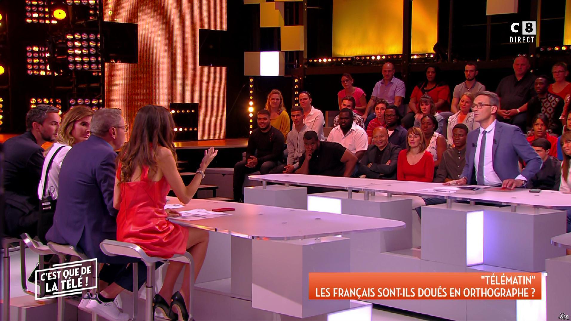 FrancesÇa Antoniotti dans c'est Que de la Télé. Diffusé à la télévision le 06/06/18.