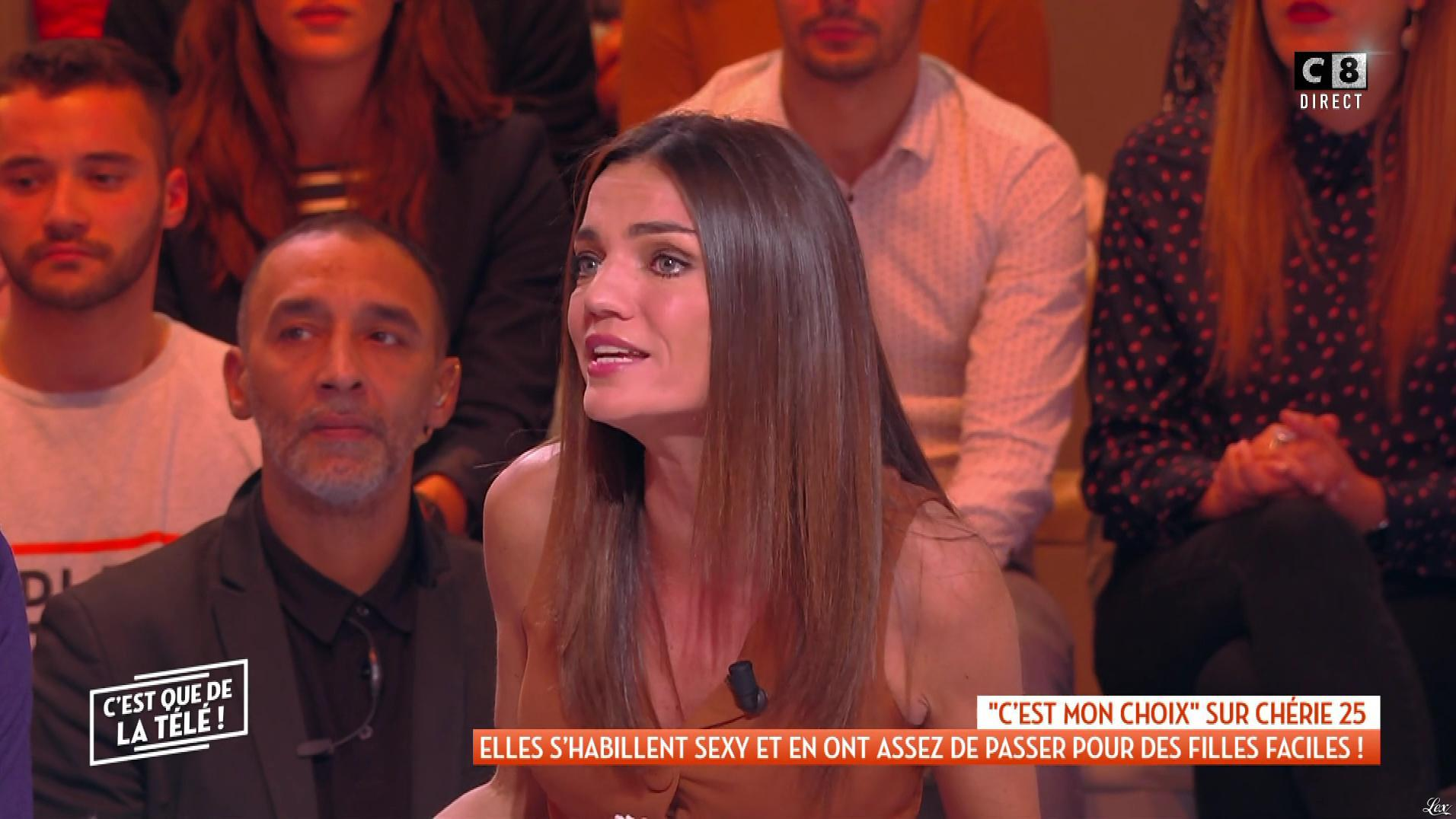 FrancesÇa Antoniotti dans c'est Que de la Télé. Diffusé à la télévision le 10/12/18.