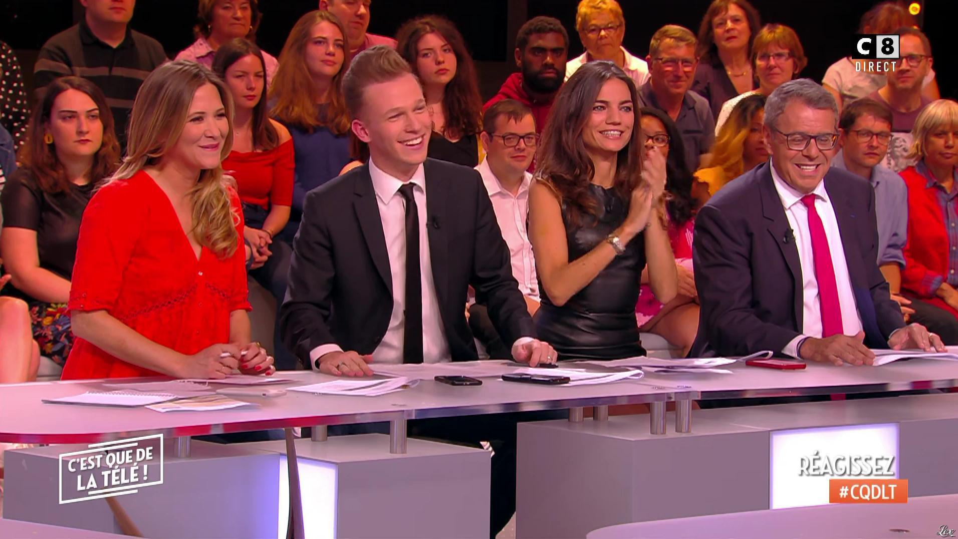 FrancesÇa Antoniotti dans c'est Que de la Télé. Diffusé à la télévision le 18/06/18.