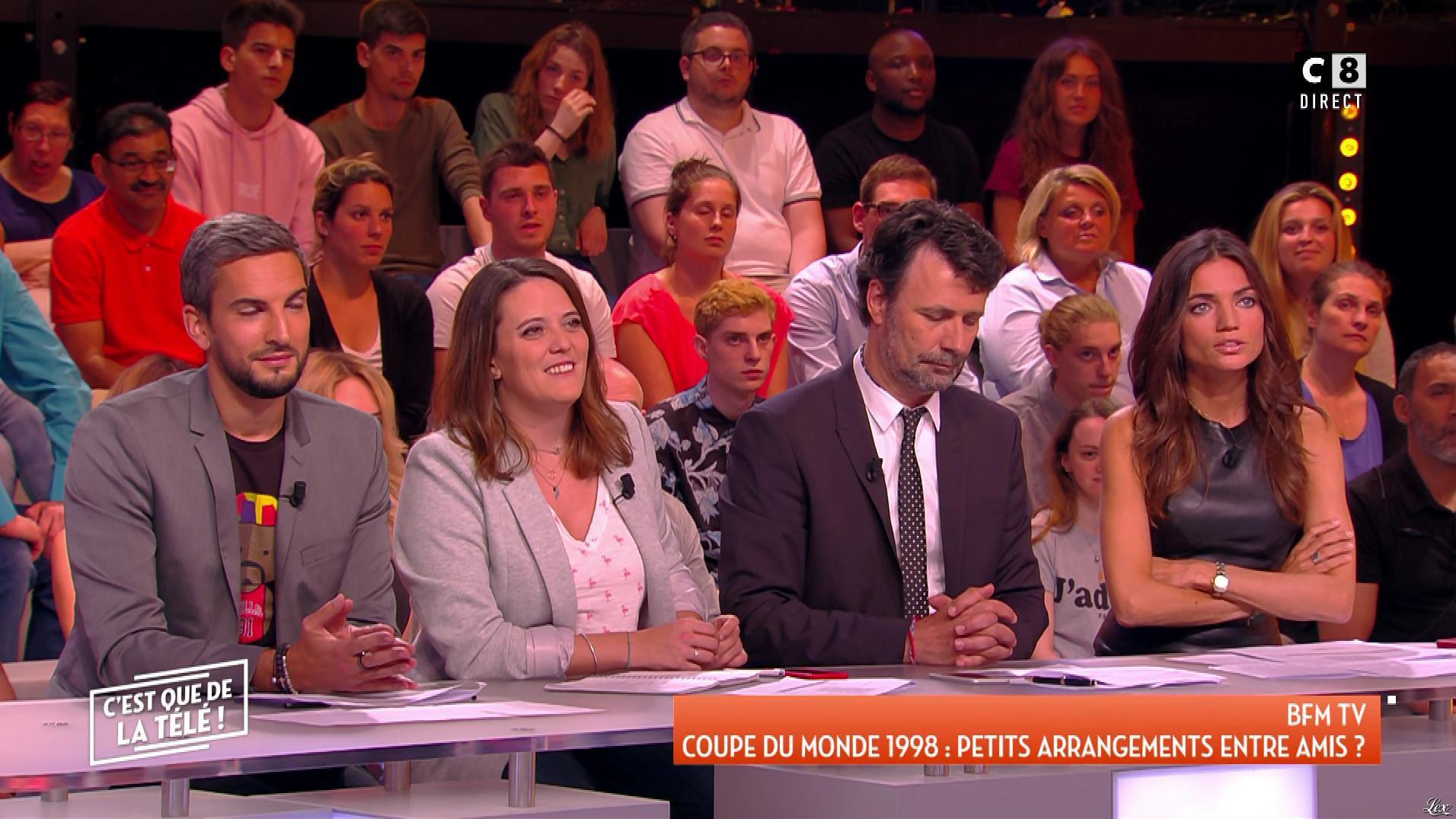 FrancesÇa Antoniotti dans c'est Que de la Télé. Diffusé à la télévision le 22/05/18.