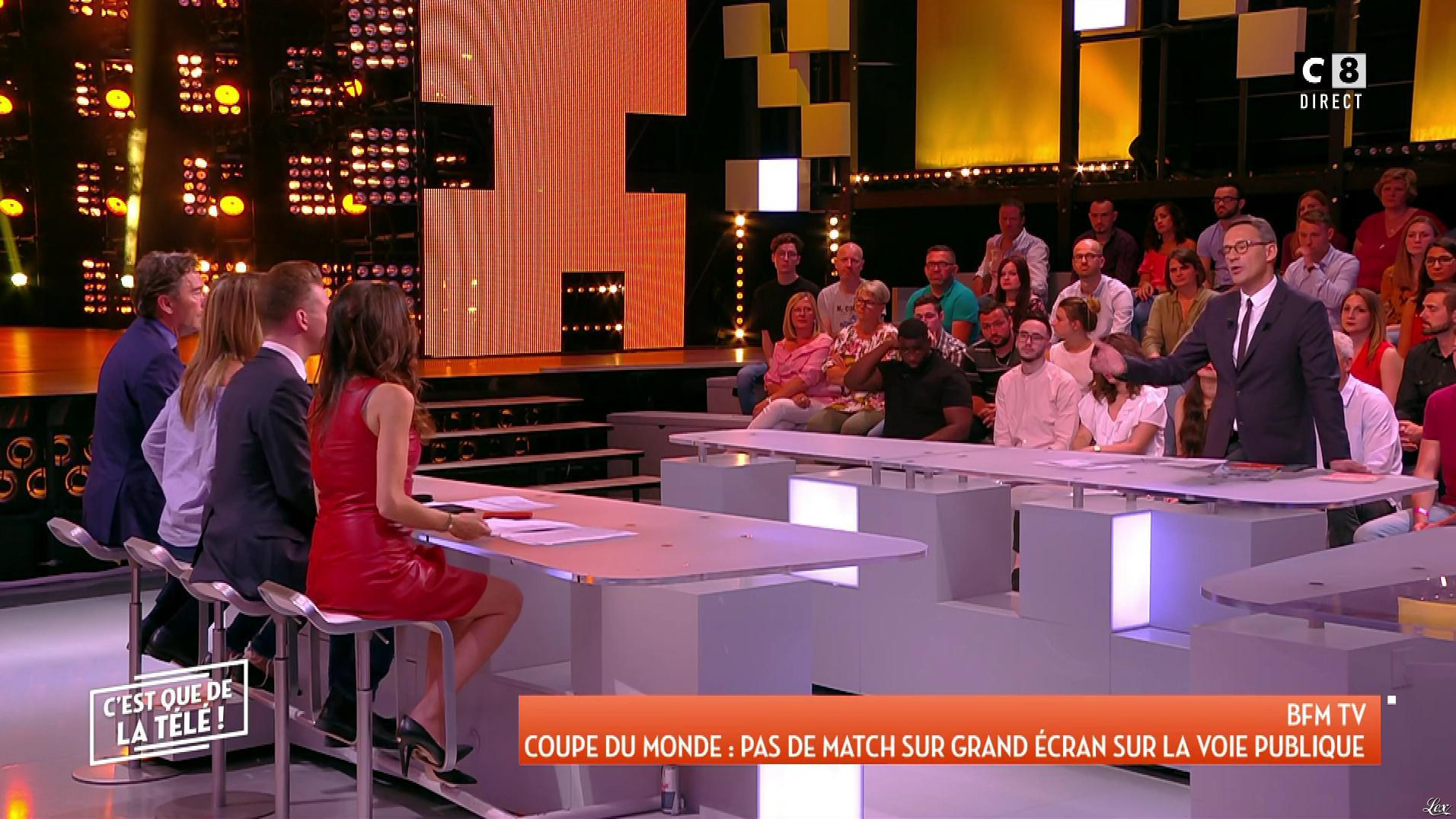 FrancesÇa Antoniotti dans c'est Que de la Télé. Diffusé à la télévision le 30/05/18.