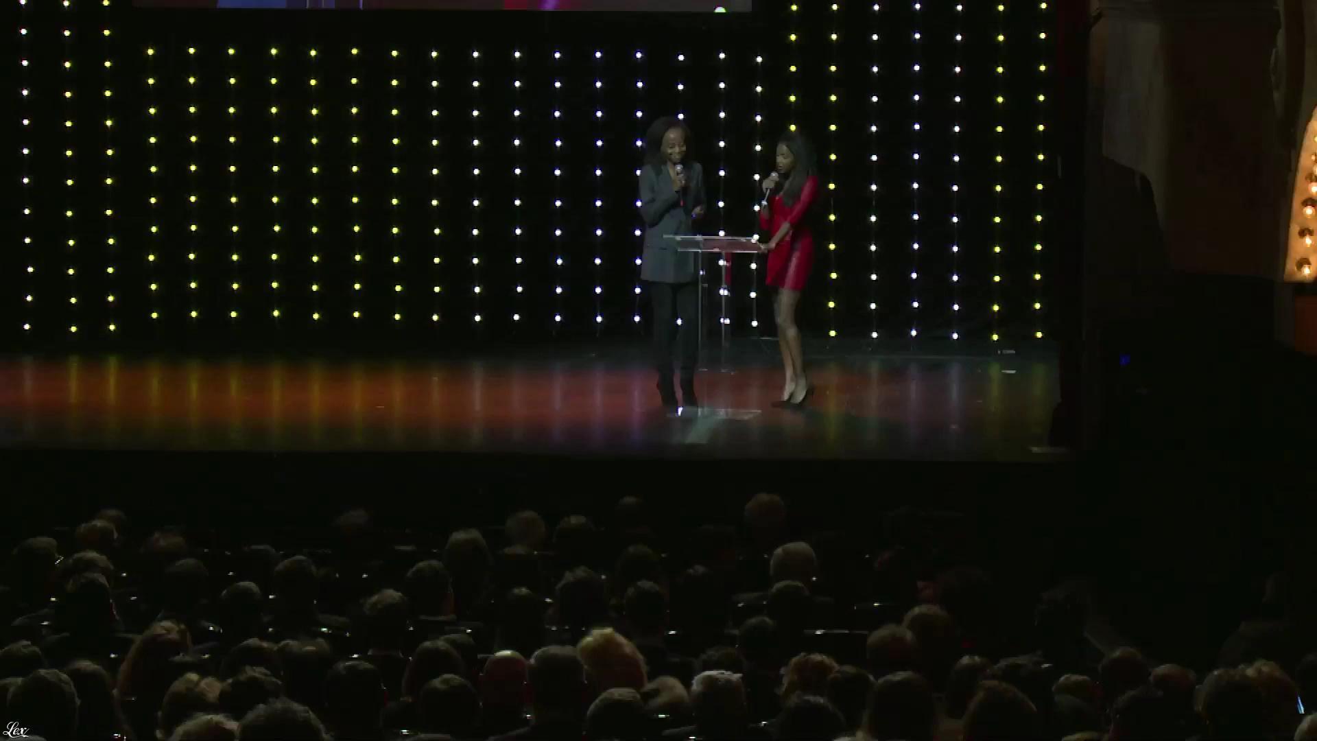Hapsatou Sy dans Ceremonie des Lauriers. Diffusé à la télévision le 12/02/18.
