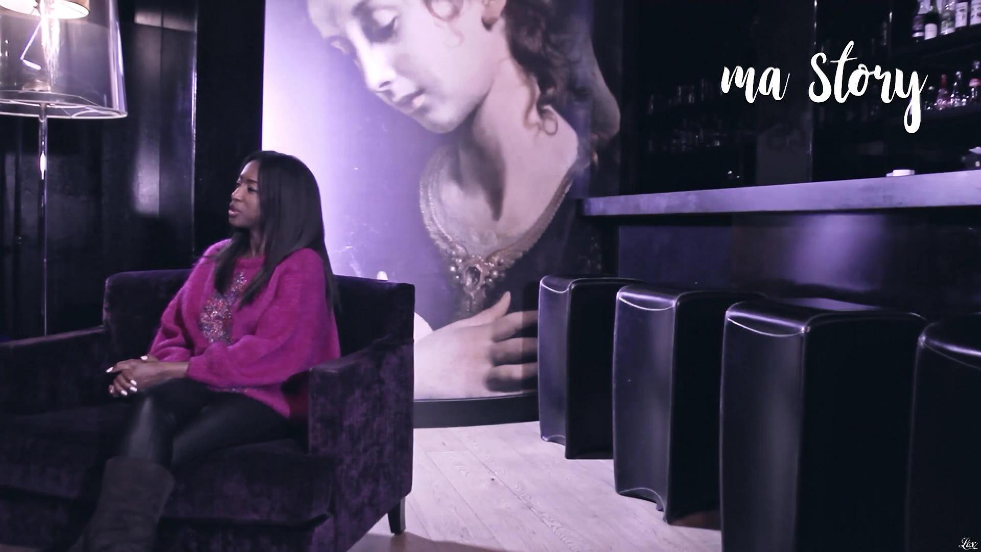 Hapsatou Sy dans Ma Story. Diffusé à la télévision le 25/04/18.