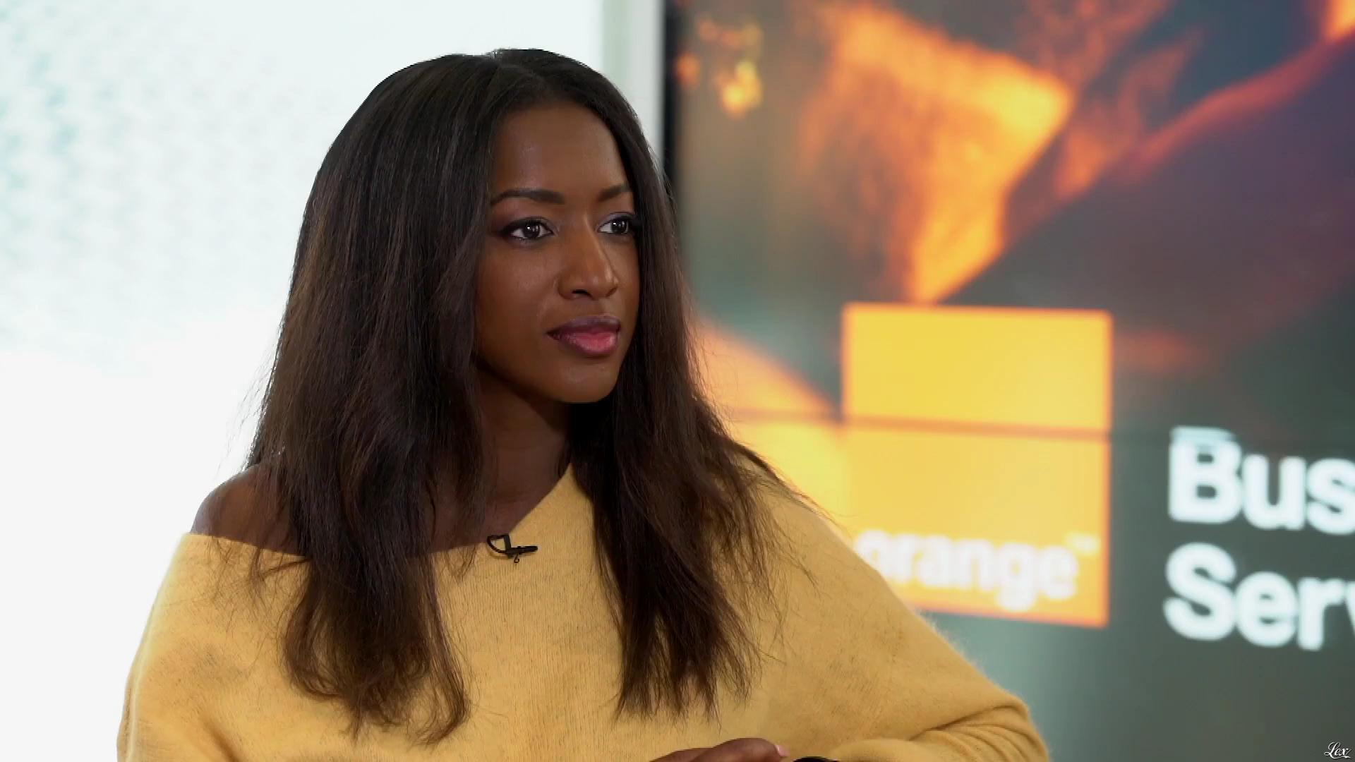 Hapsatou Sy dans Spots pour Orange. Diffusé à la télévision le 28/05/18.
