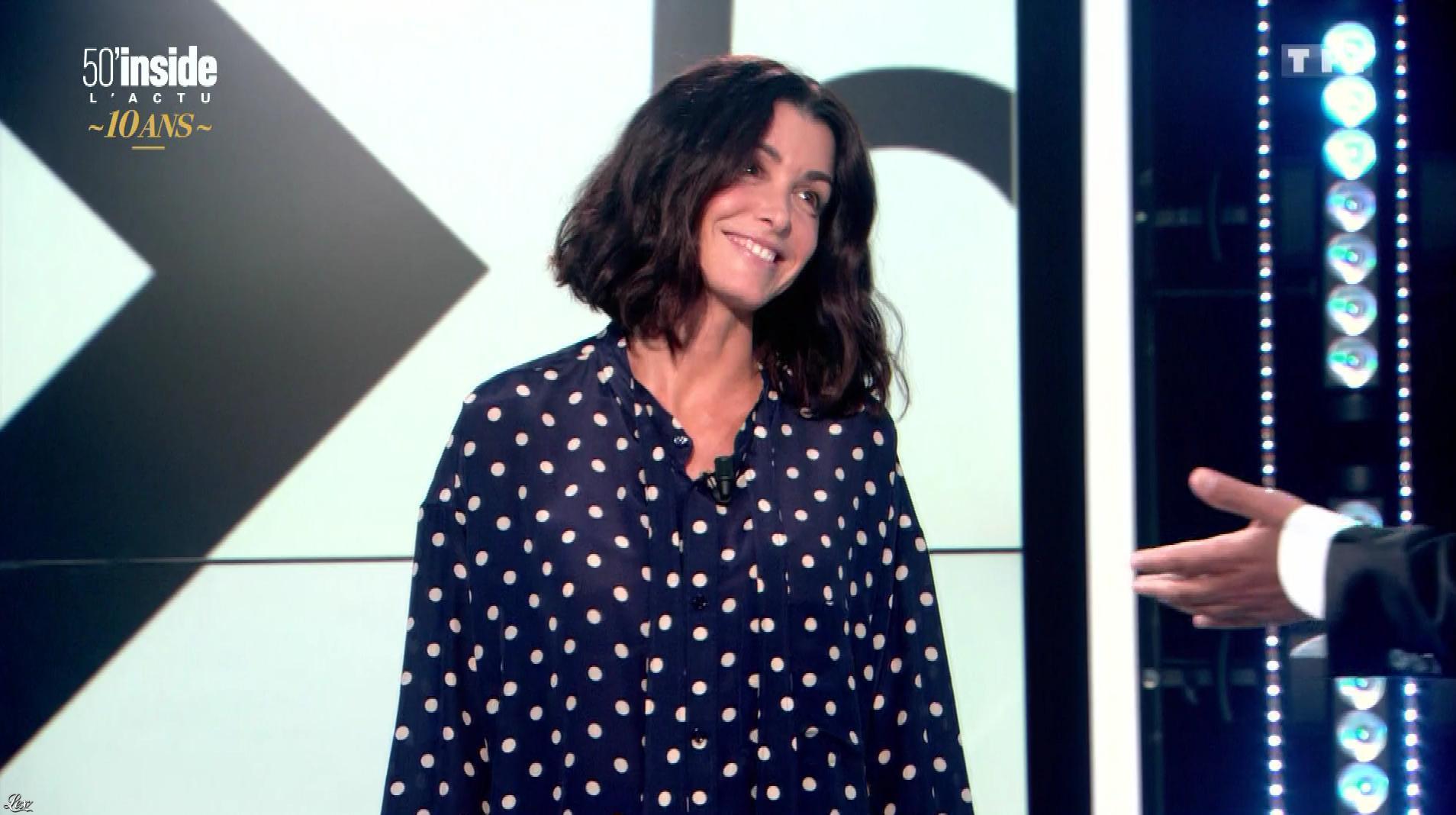 Jenifer Bartoli dans 50 Minutes Inside. Diffusé à la télévision le 16/09/17.