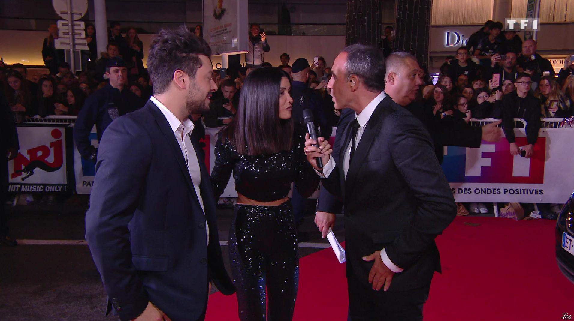 Jenifer Bartoli dans NRJ Music Awards. Diffusé à la télévision le 10/11/18.