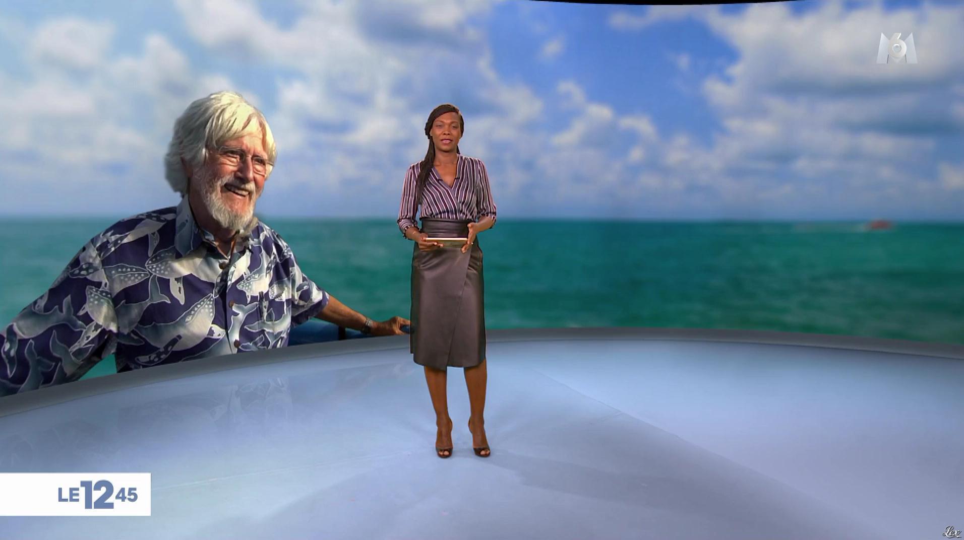 Kareen Guiock dans le 12-45. Diffusé à la télévision le 07/11/18.