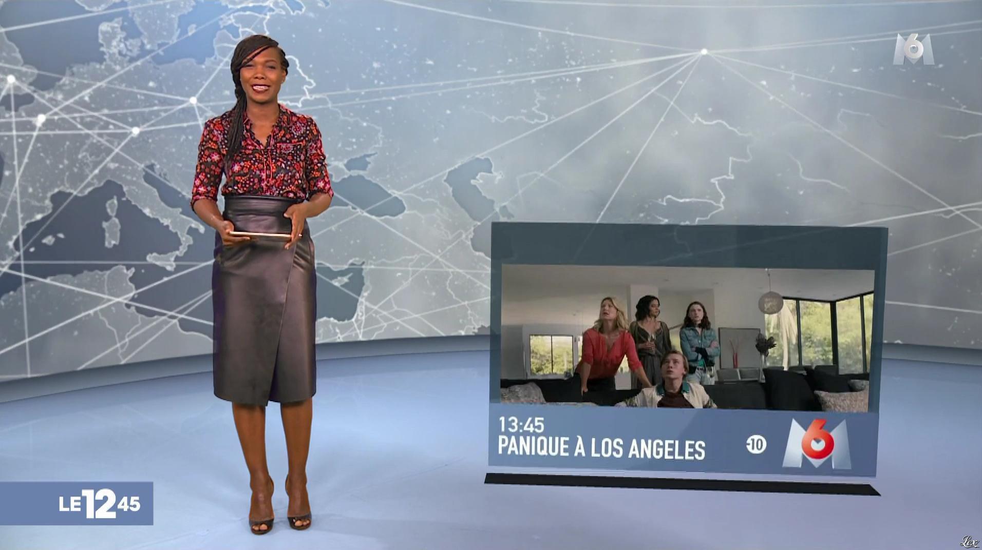 Kareen Guiock dans le 12-45. Diffusé à la télévision le 26/10/18.