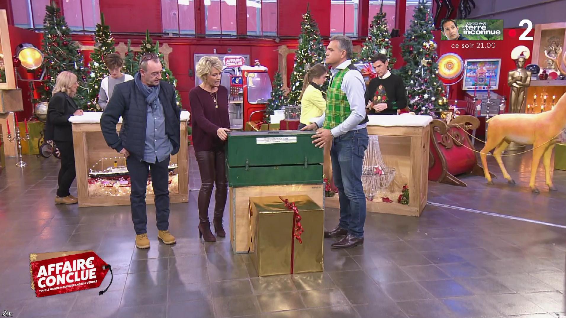 Sophie Davant dans Affaire Conclue. Diffusé à la télévision le 04/12/18.