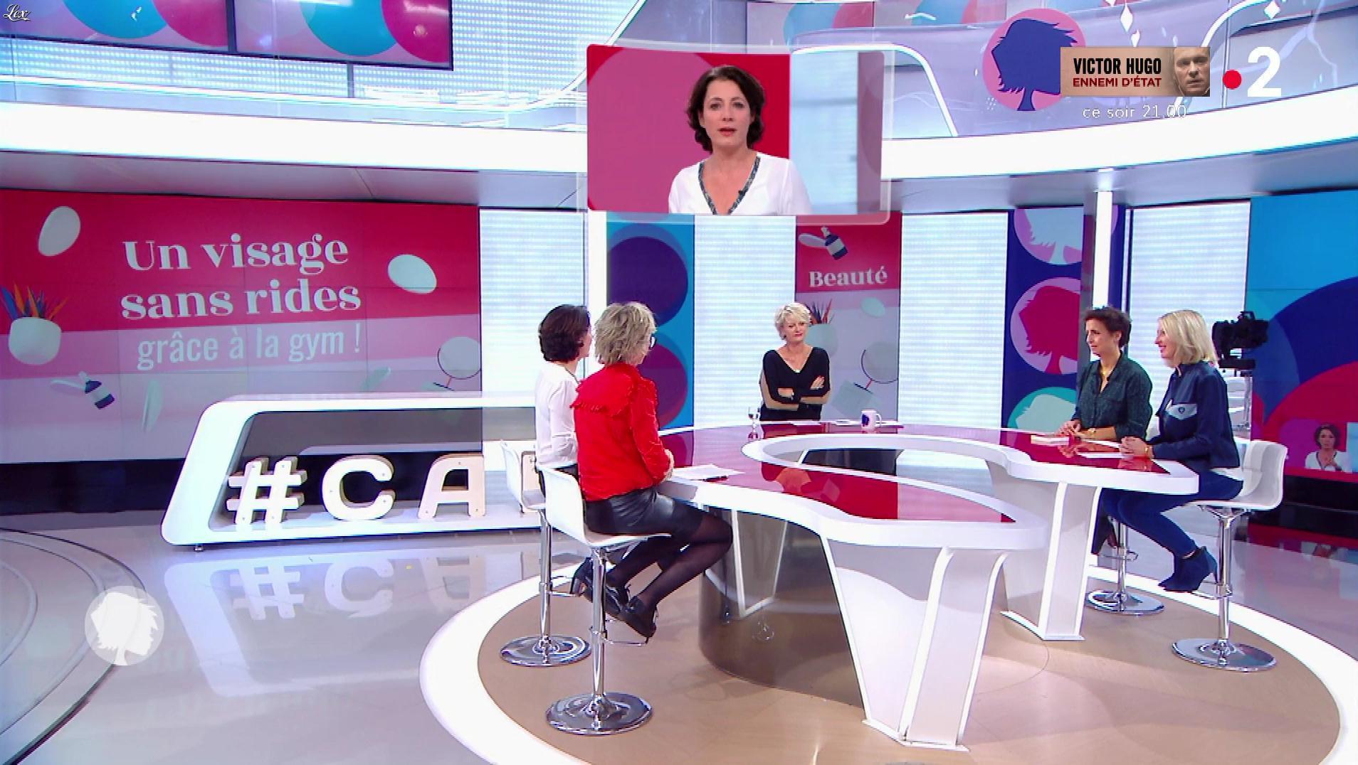 Sylvie Adigard dans c'est au Programme. Diffusé à la télévision le 06/11/18.