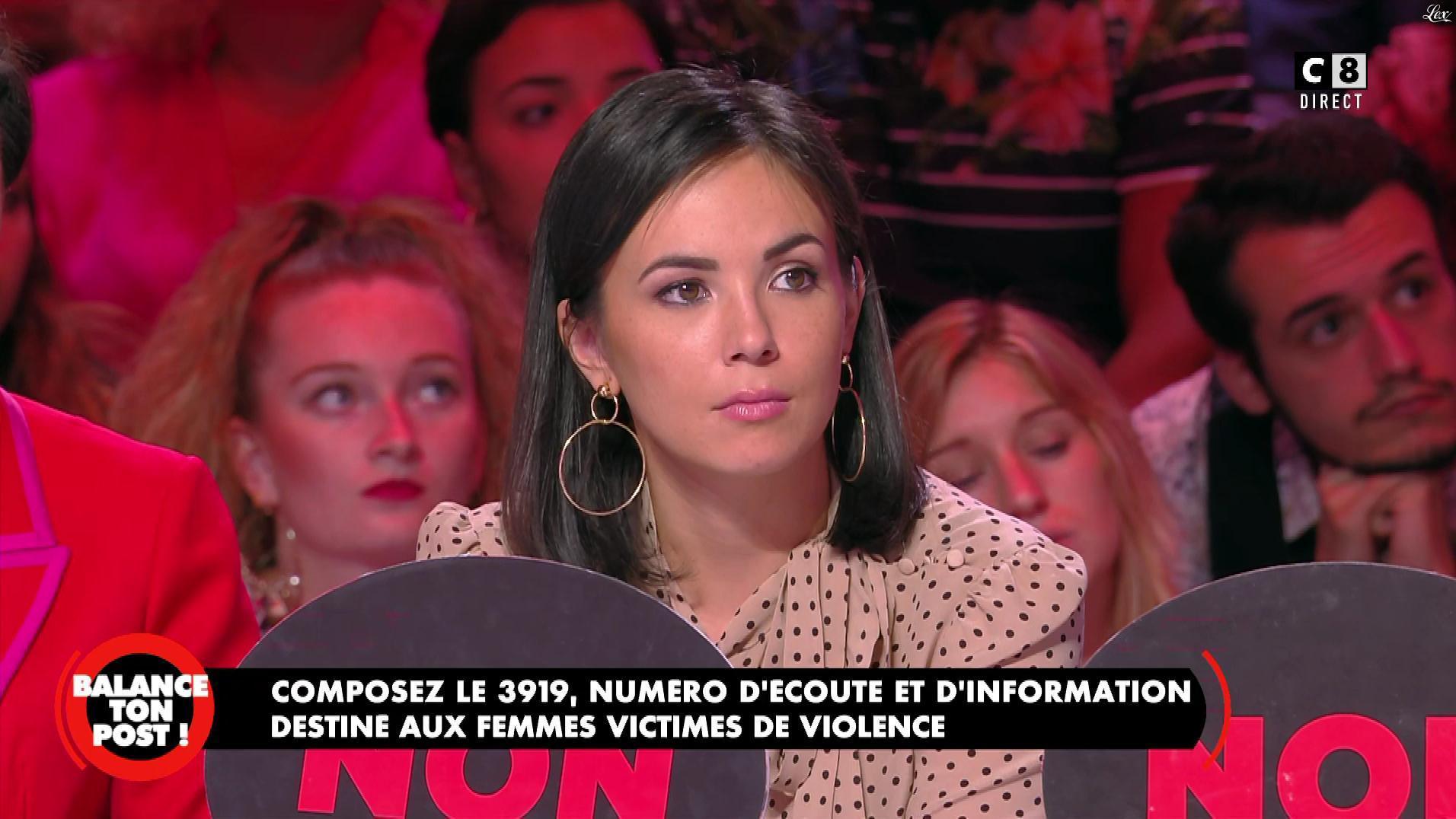 Agathe Auproux dans Balance ton Post. Diffusé à la télévision le 20/09/19.