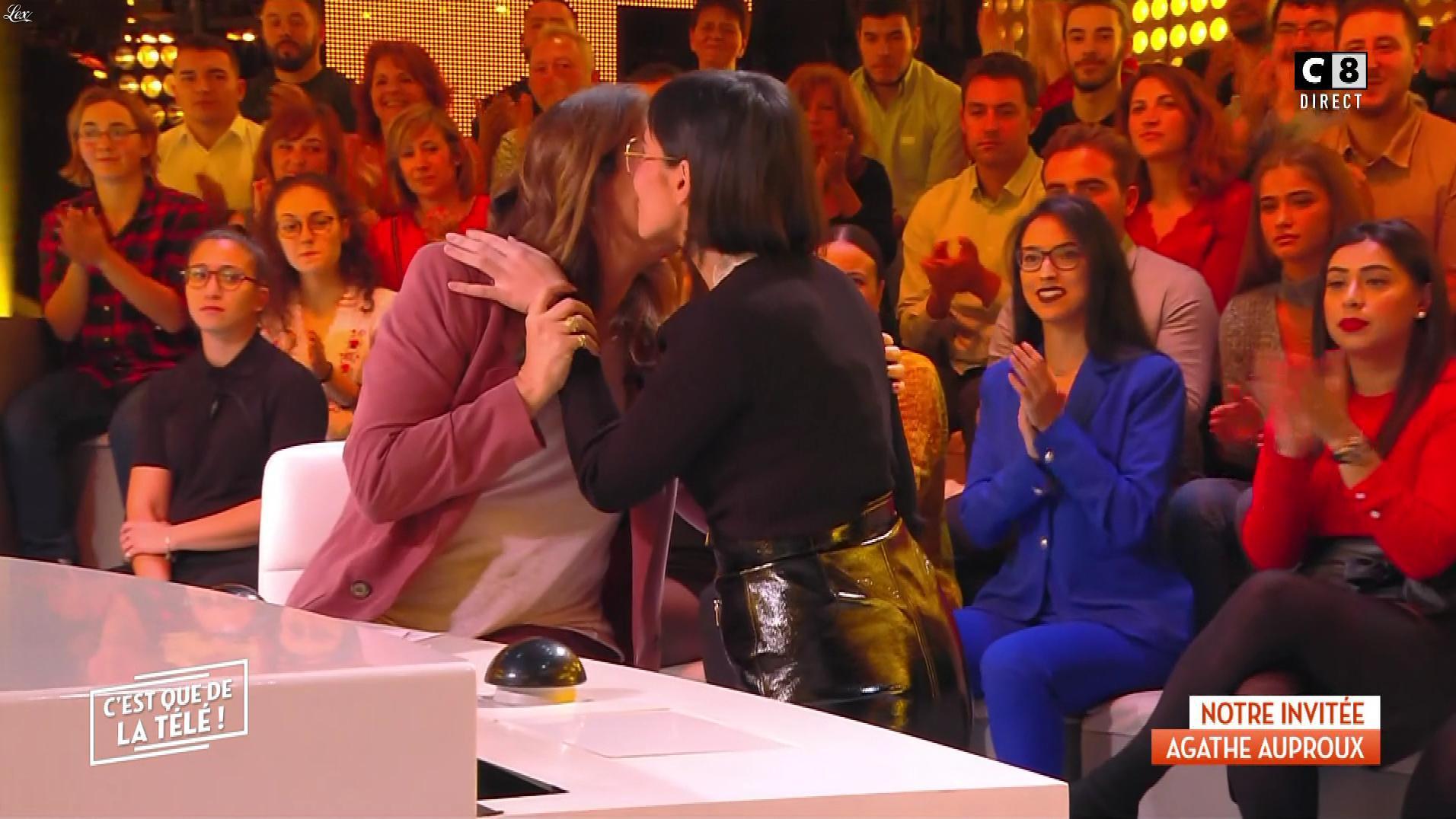 Agathe Auproux dans c'est Que de la Télé. Diffusé à la télévision le 05/11/19.