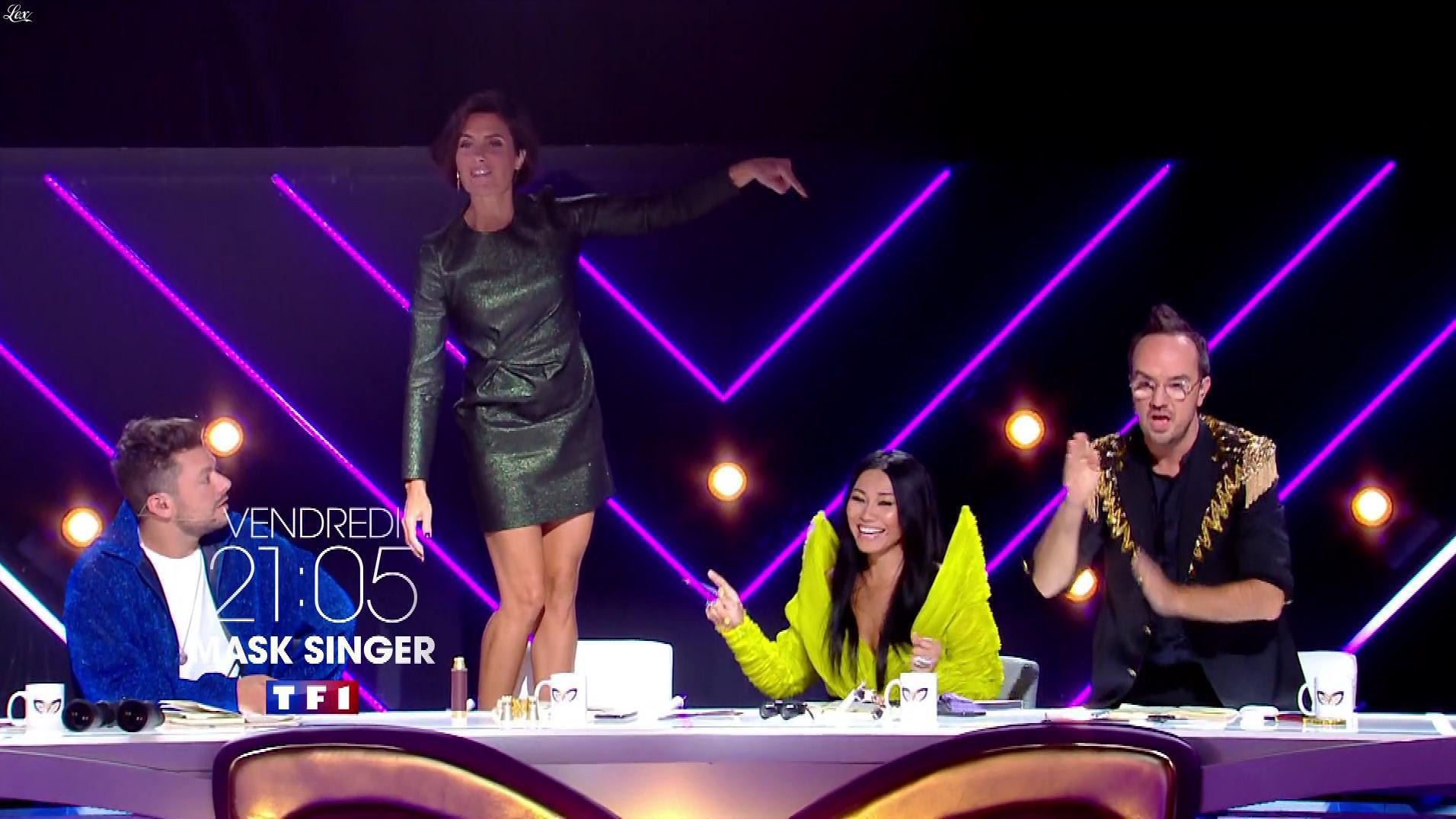 Alessandra Sublet dans une Bande-Annonce de Mask Singer. Diffusé à la télévision le 02/12/19.