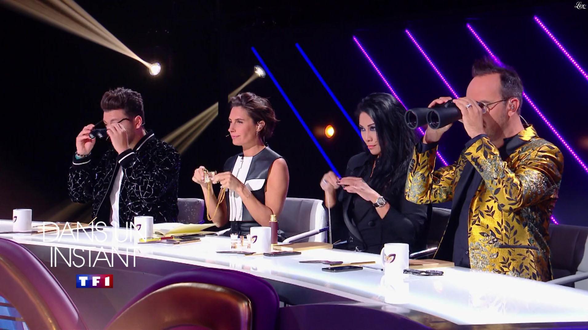 Alessandra Sublet dans une Bande-Annonce de Mask Singer. Diffusé à la télévision le 22/11/19.