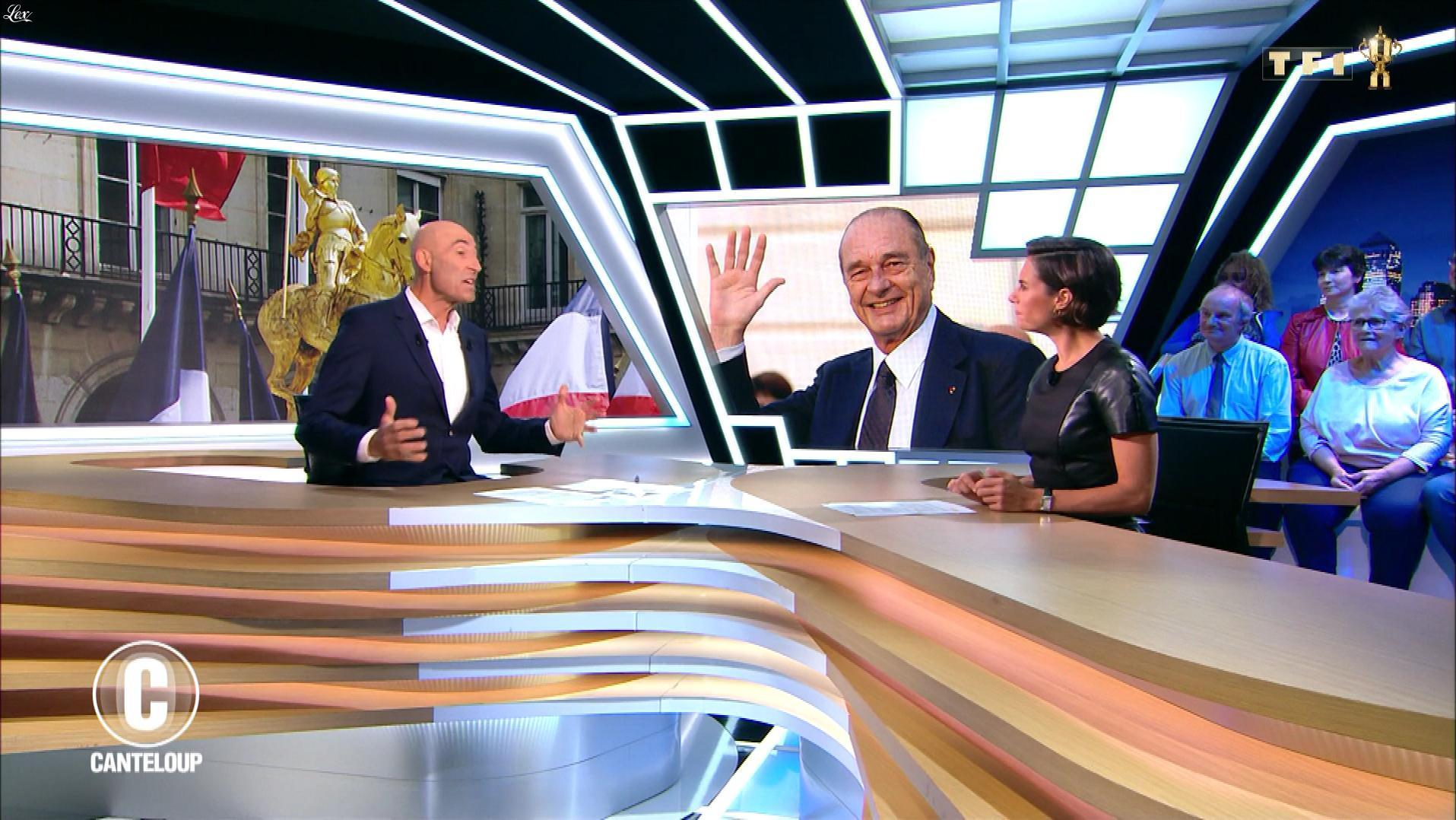 Alessandra Sublet dans c'est Canteloup. Diffusé à la télévision le 01/10/19.