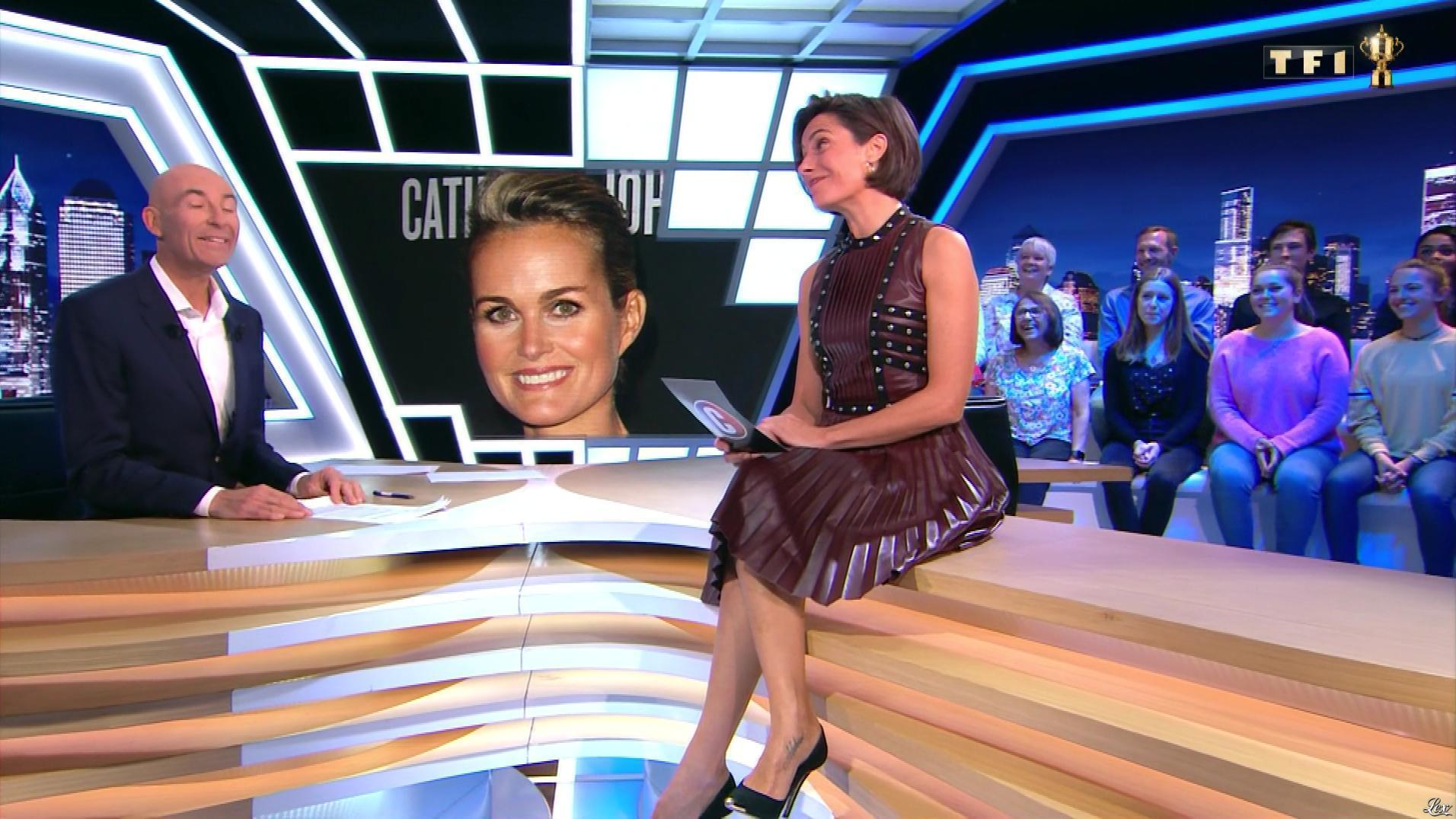Alessandra Sublet dans c'est Canteloup. Diffusé à la télévision le 17/10/19.