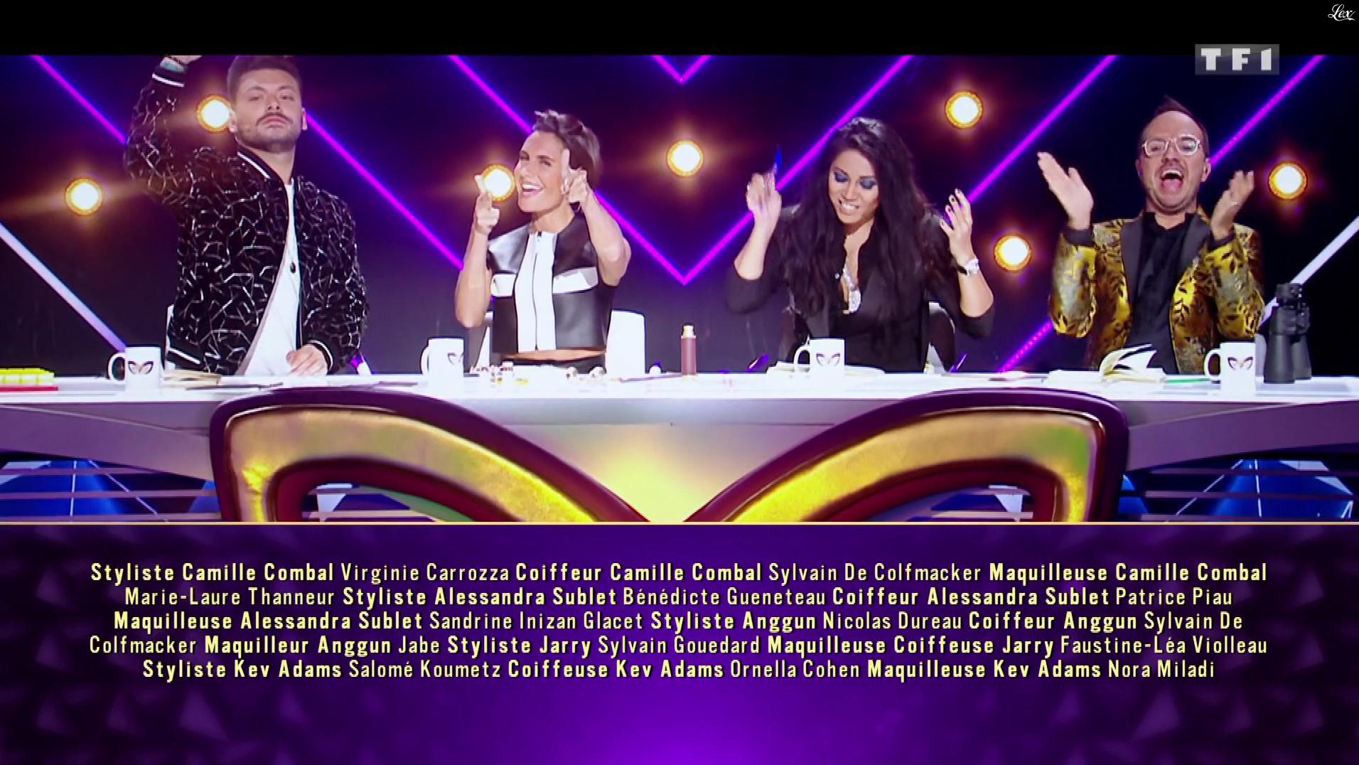 Alessandra Sublet dans Mask Singer. Diffusé à la télévision le 15/11/19.