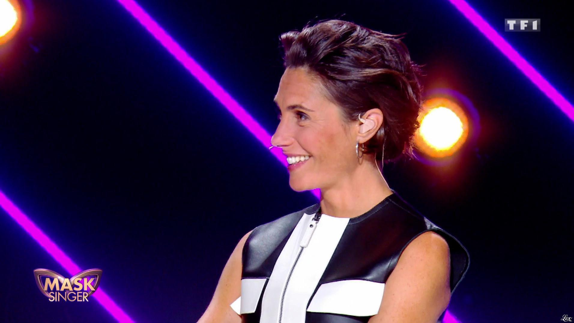 Alessandra Sublet dans Mask Singer. Diffusé à la télévision le 22/11/19.