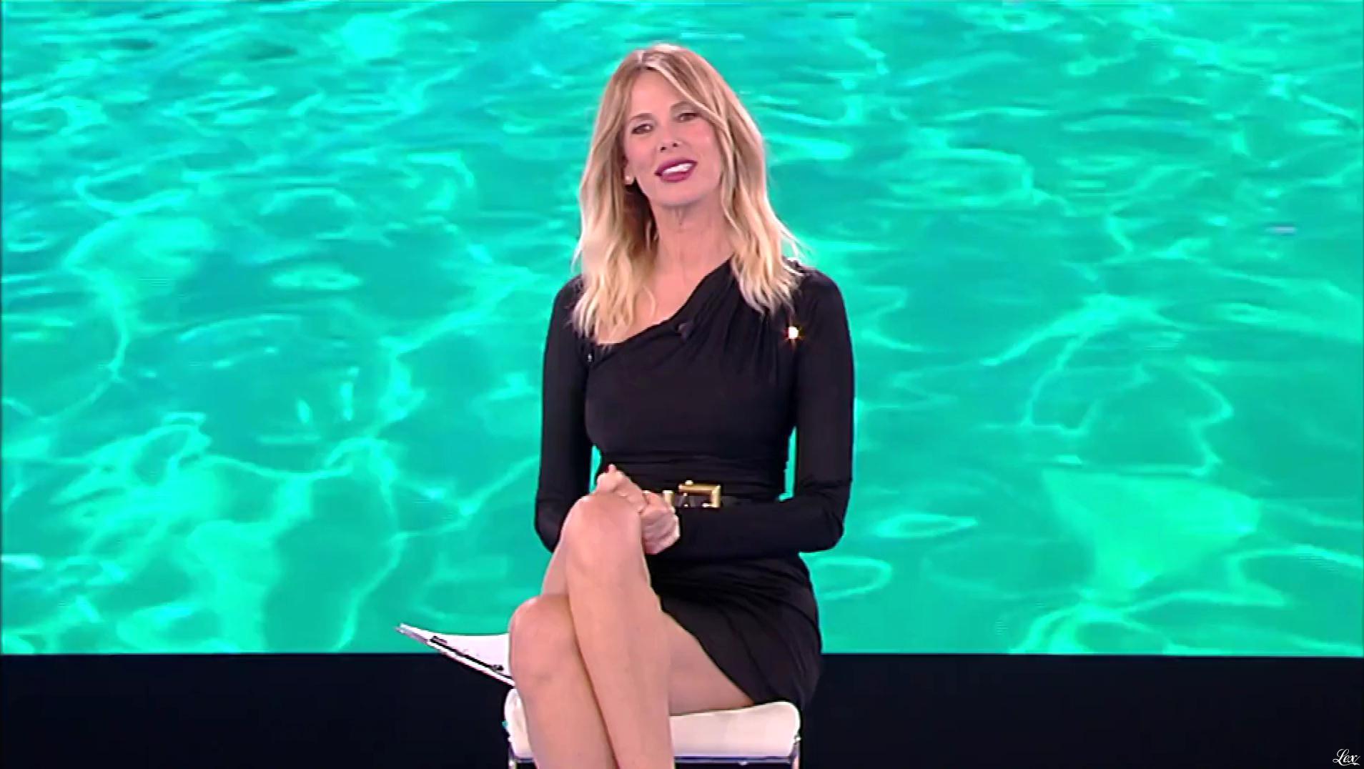 Alessia Marcuzzi dans l'Isola Dei Famosi. Diffusé à la télévision le 04/03/19.