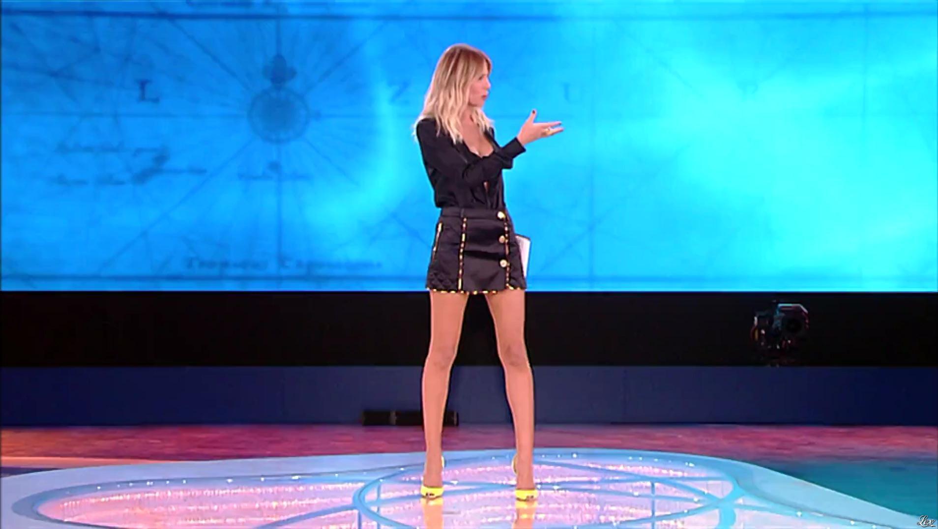 Alessia Marcuzzi dans l'Isola Dei Famosi. Diffusé à la télévision le 27/02/19.