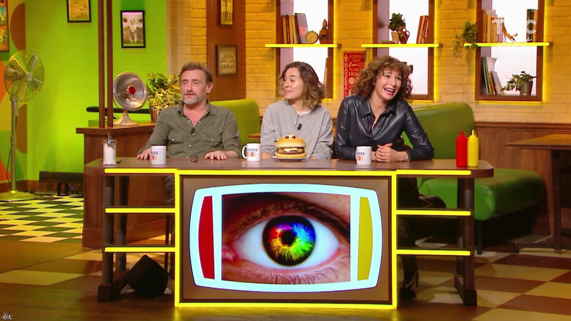Anne Depetrini dans Burger Quiz. Diffusé à la télévision le 04/12/19.