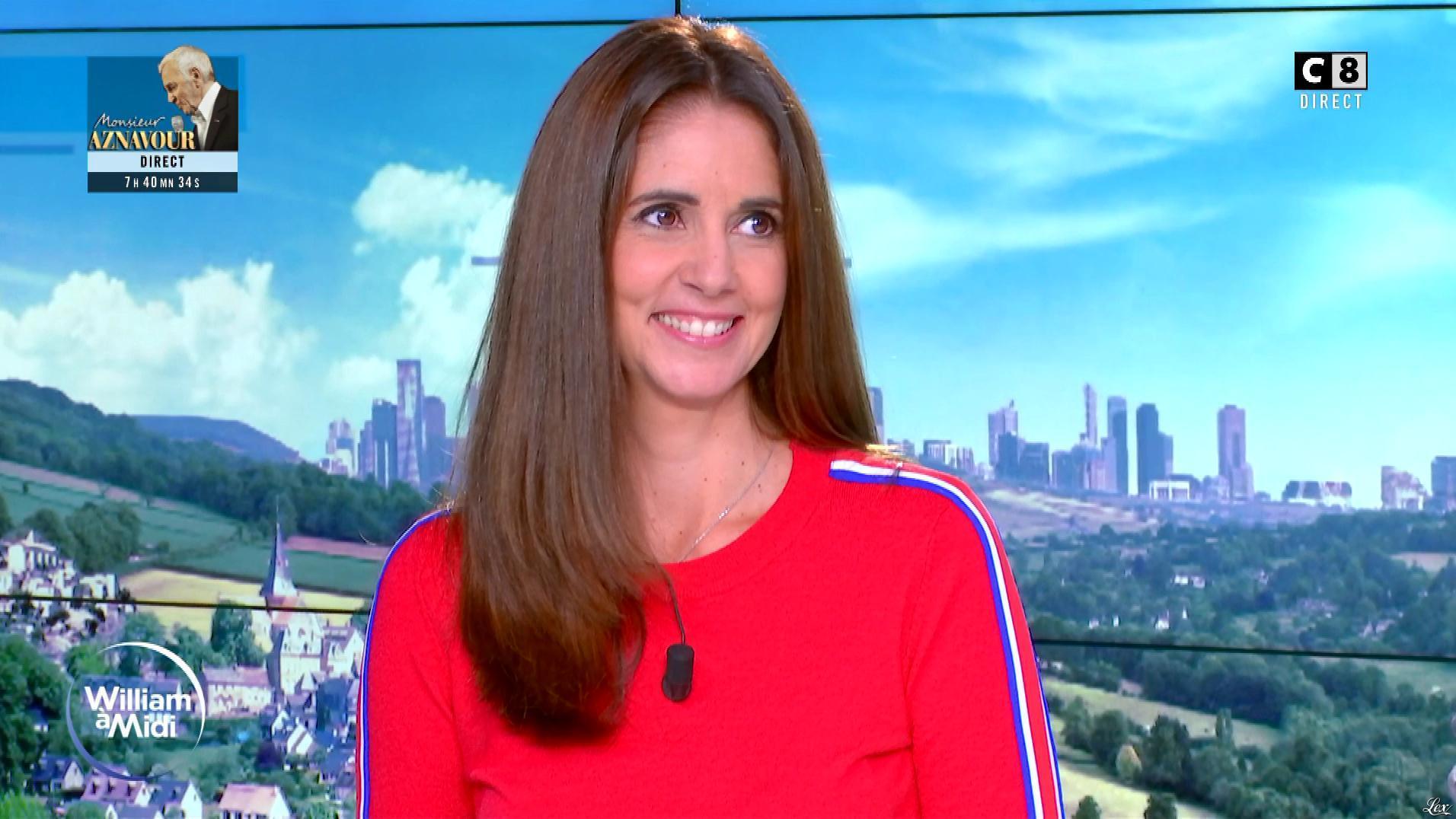 Caroline Munoz dans William à Midi. Diffusé à la télévision le 03/10/19.