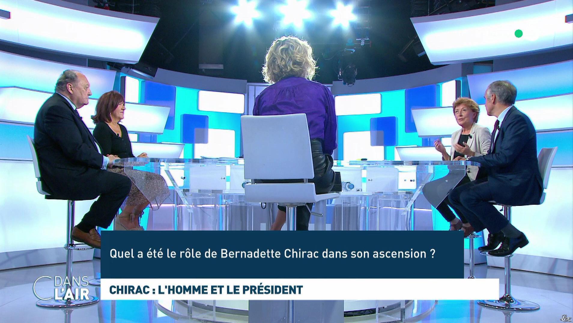 Caroline Roux dans C dans l'Air. Diffusé à la télévision le 26/09/19.