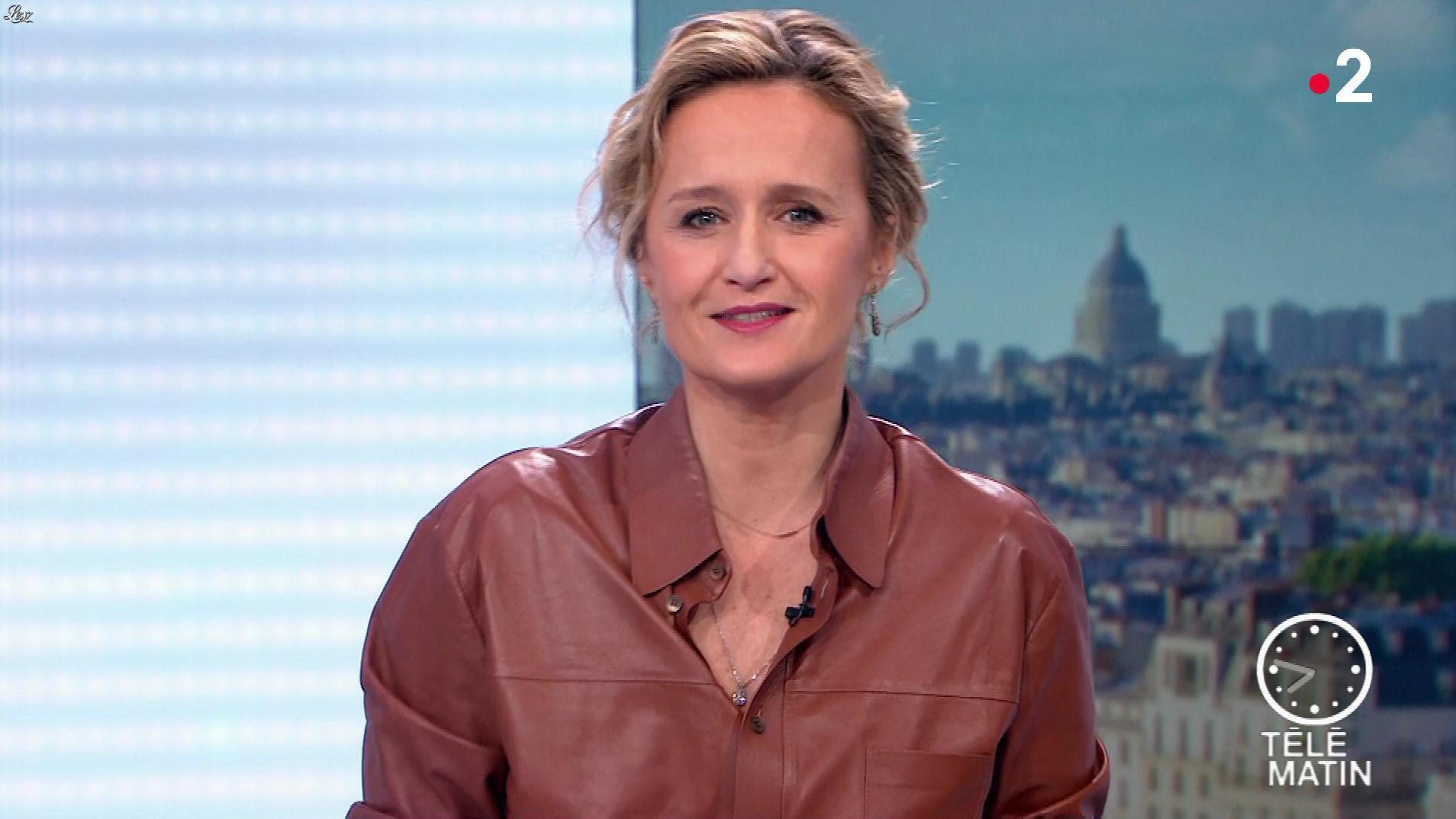 Caroline Roux dans les 4 Vérités. Diffusé à la télévision le 04/12/19.