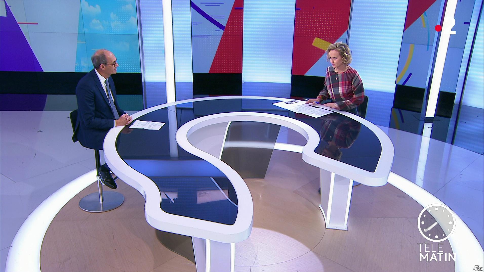 Caroline Roux dans les 4 Vérités. Diffusé à la télévision le 08/01/20.