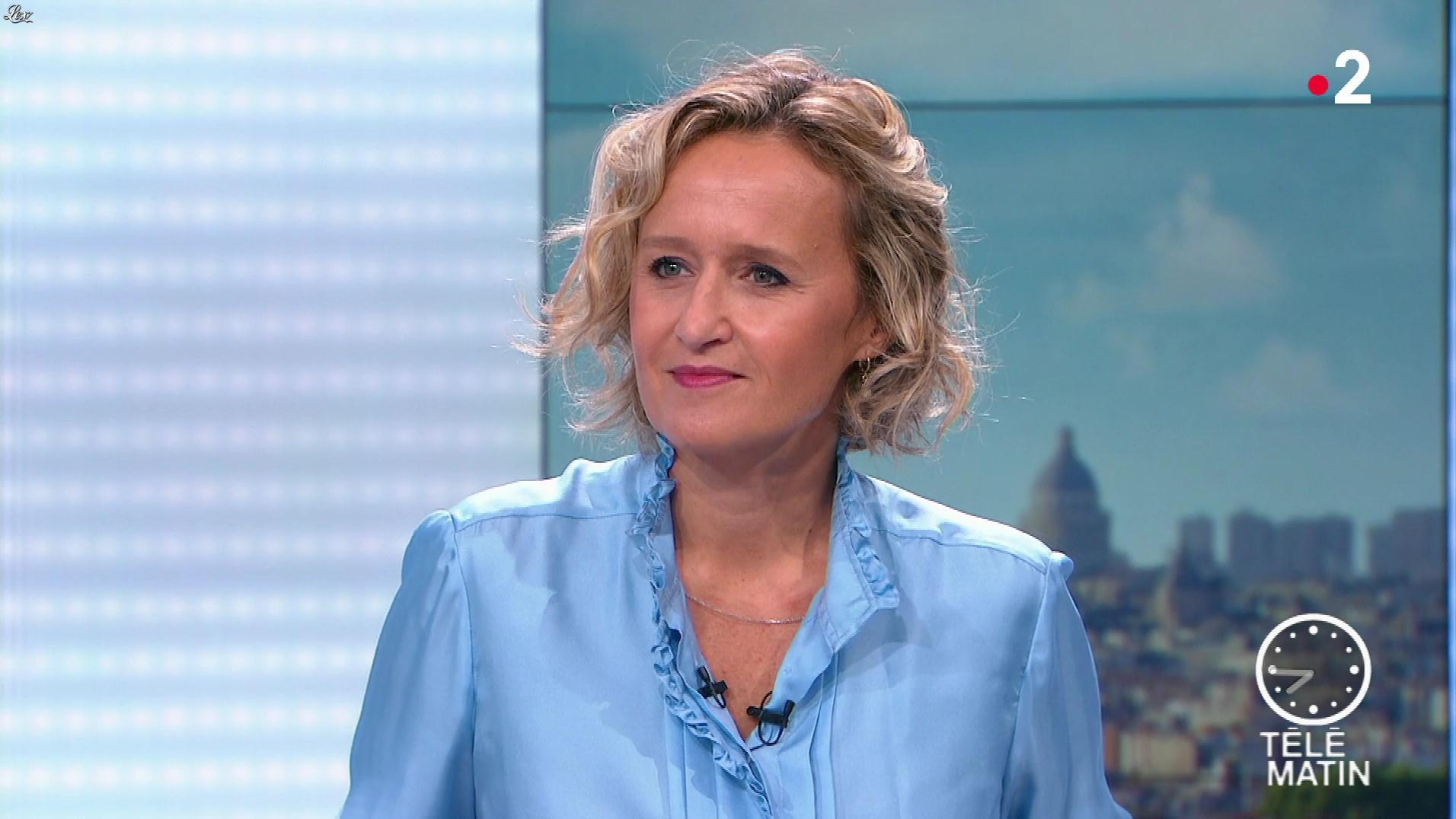 Caroline Roux dans les 4 Vérités. Diffusé à la télévision le 18/09/19.