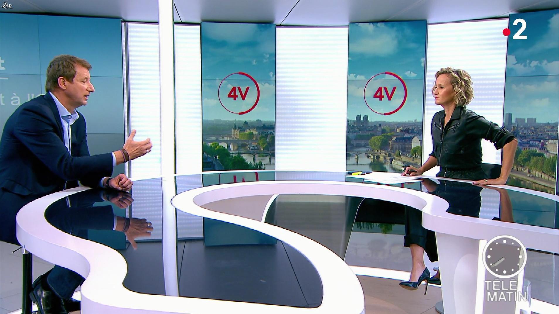 Caroline Roux dans les 4 Vérités. Diffusé à la télévision le 23/09/19.