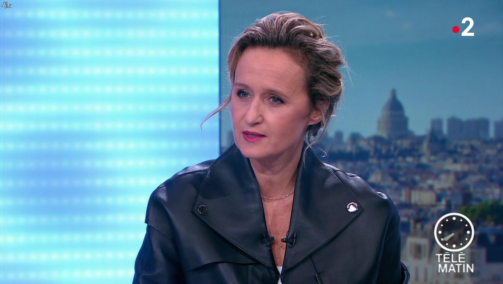 Caroline Roux dans les 4 Vérités. Diffusé à la télévision le 31/10/19.