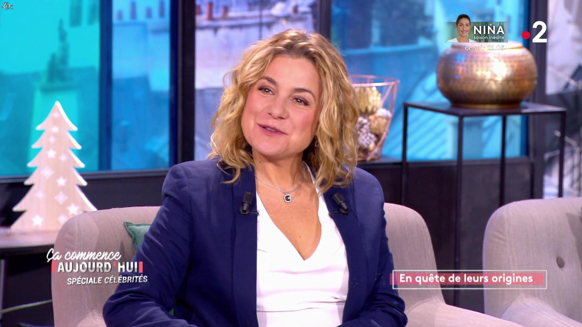 Christèle Albaret dans Ça Commence Aujourd'hui. Diffusé à la télévision le 13/11/19.