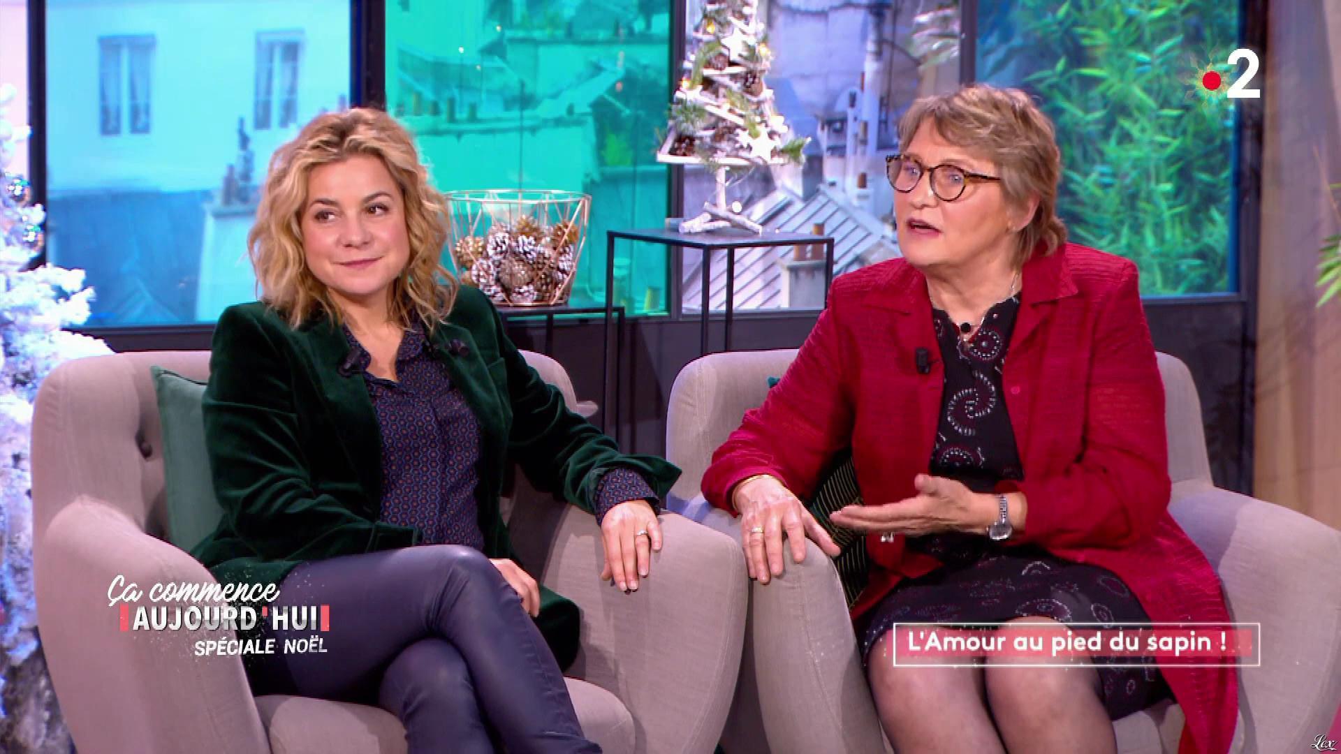 Christèle Albaret dans Ça Commence Aujourd'hui. Diffusé à la télévision le 17/12/19.