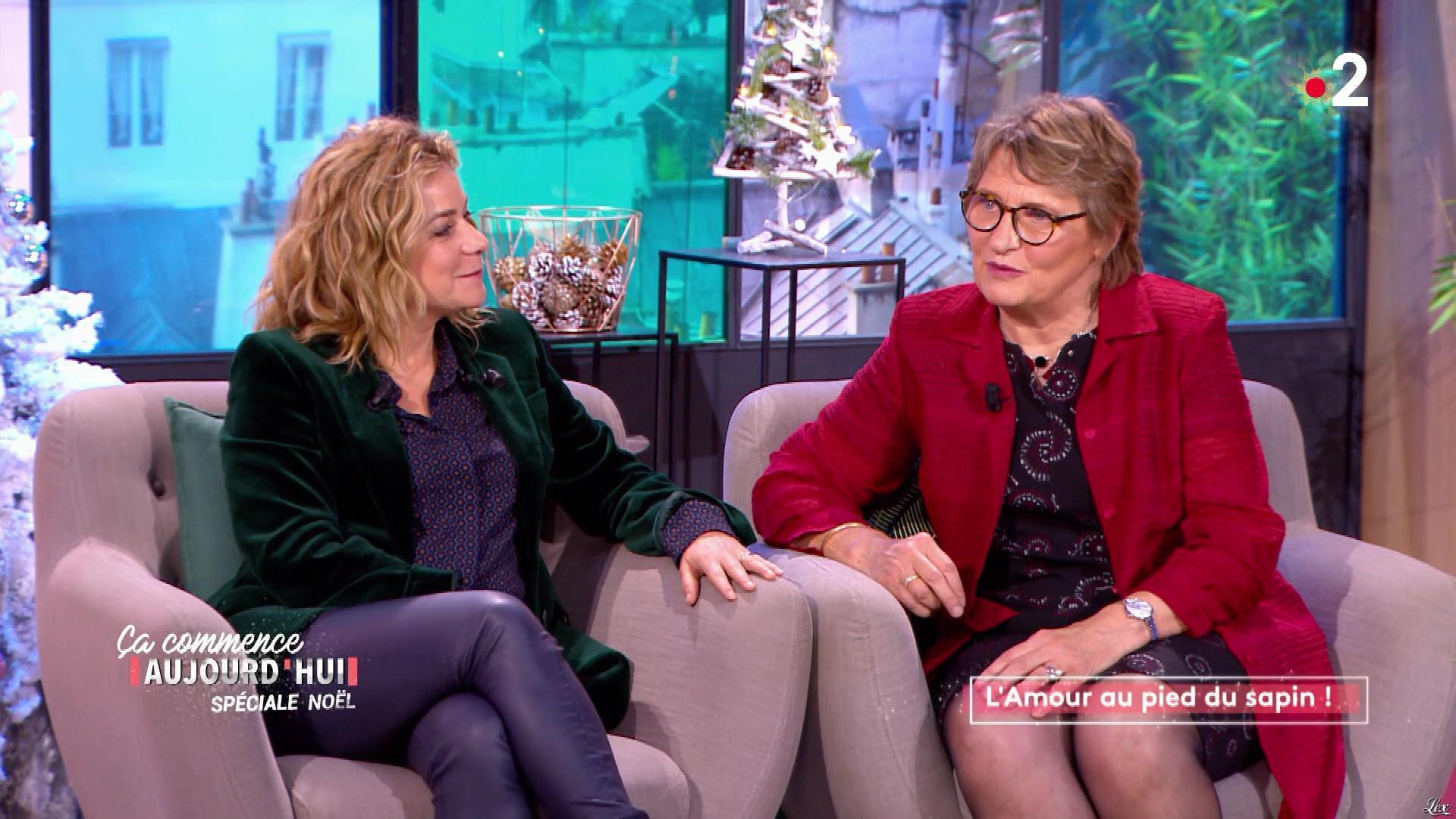 Christele Albaret dans Ça Commence Aujourd'hui. Diffusé à la télévision le 17/12/19.