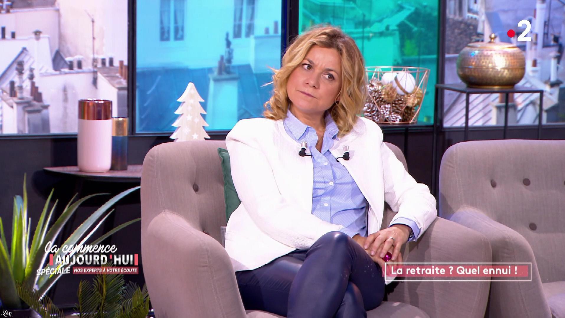 Christele Albaret dans Ça Commence Aujourd'hui. Diffusé à la télévision le 21/11/19.