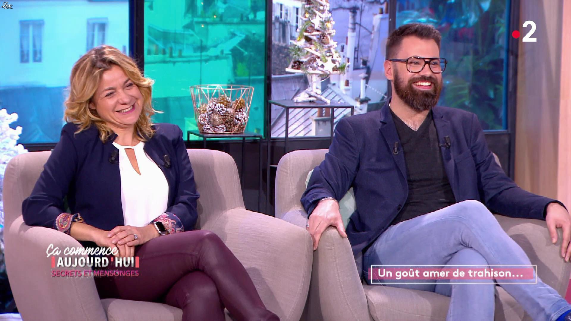 Christèle Albaret dans Ça Commence Aujourd'hui. Diffusé à la télévision le 28/11/19.