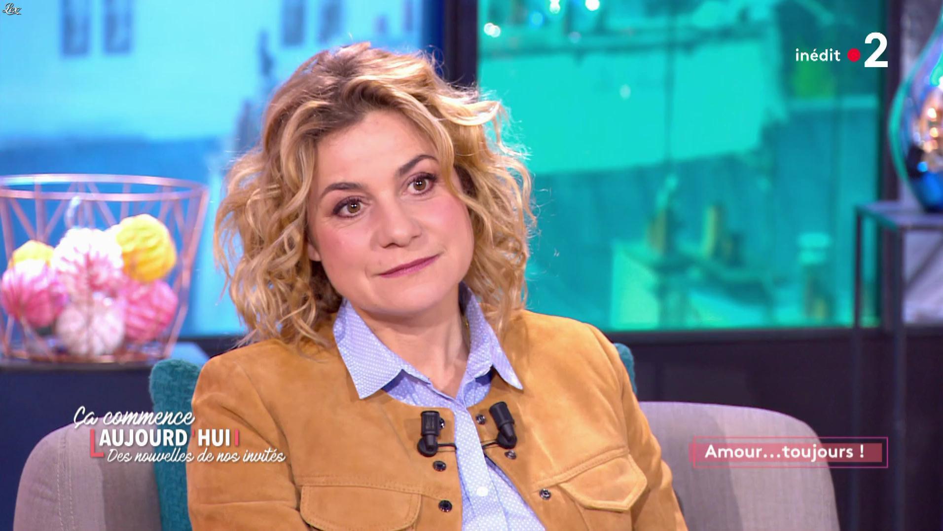 Christele Albaret dans Ça Commence Aujourd'hui des Nouvelles. Diffusé à la télévision le 06/09/19.