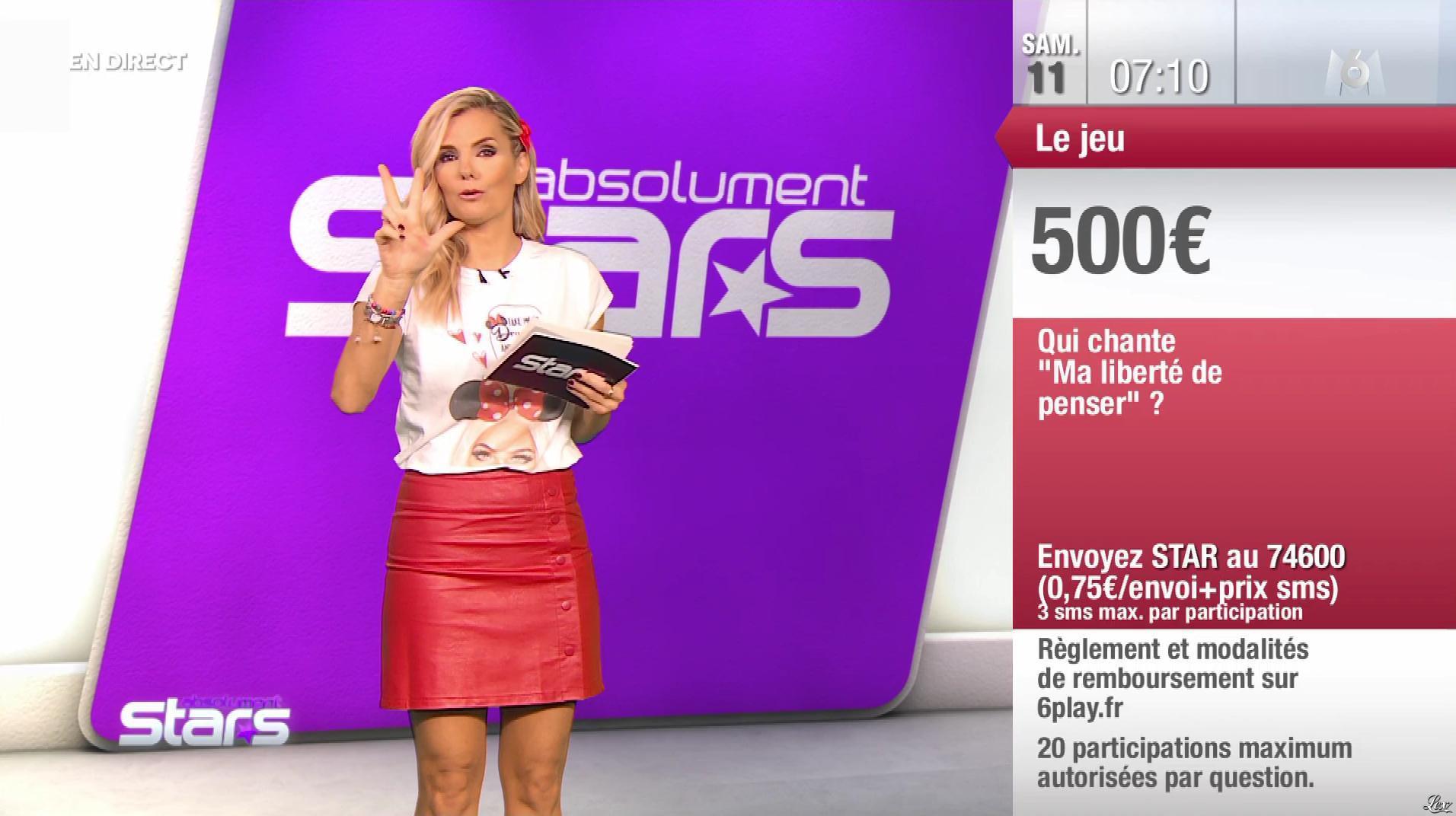 Claire Nevers dans Absolument Stars. Diffusé à la télévision le 11/01/20.