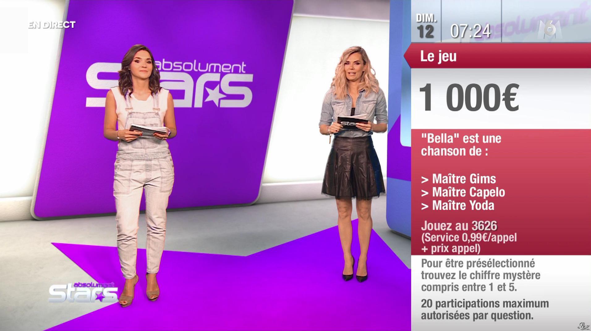 Claire Nevers dans Absolument Stars. Diffusé à la télévision le 12/05/19.