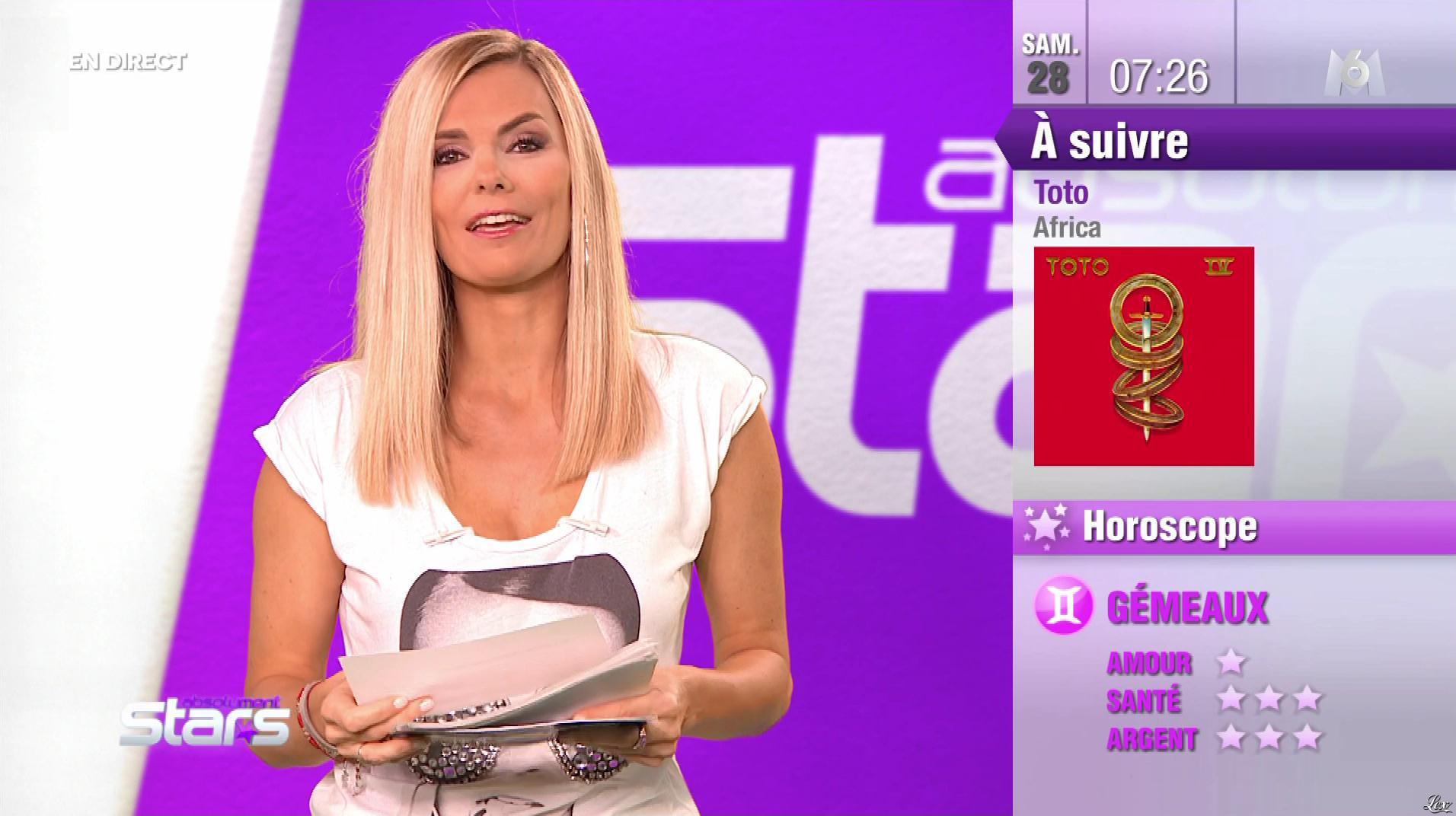 Claire Nevers dans Absolument Stars. Diffusé à la télévision le 28/09/19.