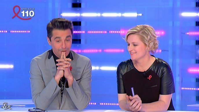 Anne-Elisabeth Lemoine dans la Nouvelle Edition. Diffusé à la télévision le 30/03/12.