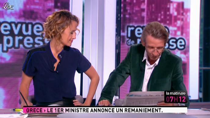 Caroline Roux dans la Matinale. Diffusé à la télévision le 16/06/11.