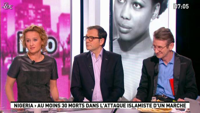Caroline Roux dans la Matinale. Diffusé à la télévision le 21/02/12.
