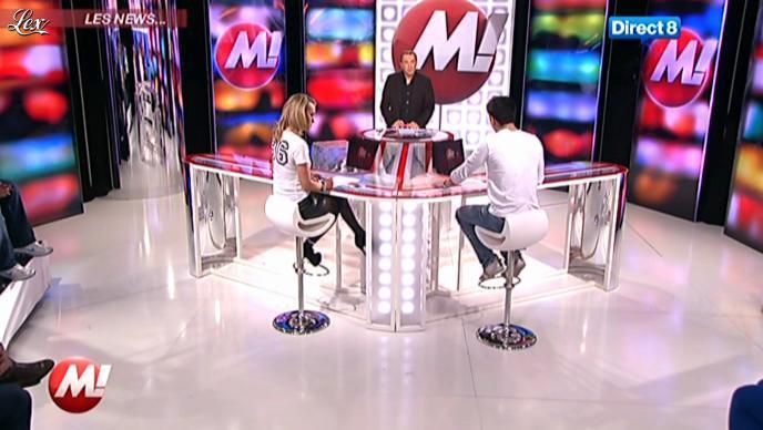Cécile de Menibus chez Morandini. Diffusé à la télévision le 26/01/12.